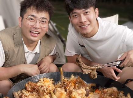 给弟弟做新疆家庭版羊排抓饭